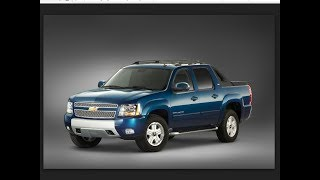 Chevrolet Avalanche 2017  Interior, Exterior, Price And Release Date