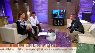 Infúziót kapott L.L. Junior újszülött kisfia-2015.09.22. – tv2.hu/mokka