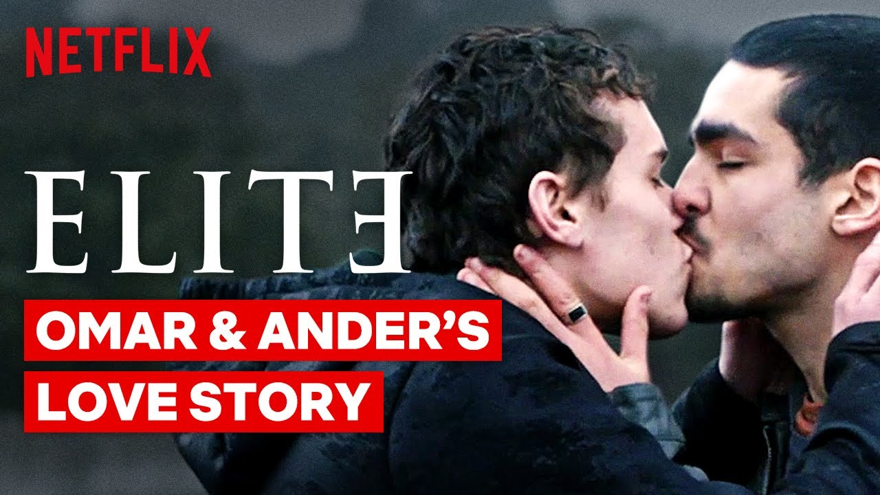 Omar and Ander's Love Story Seasons 1-3 | Elite | Netflix