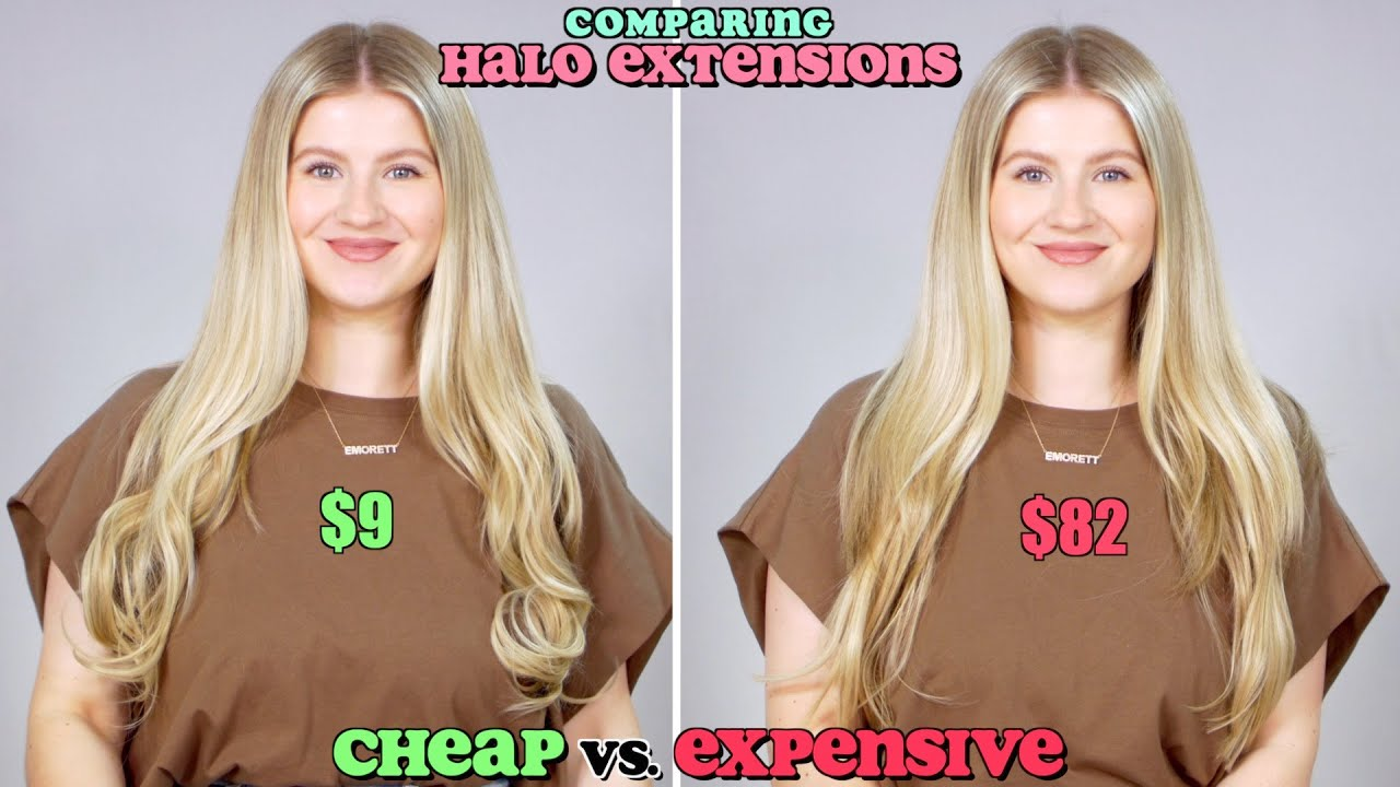Comparing Hair Extensions: Cheap vs Expensive!