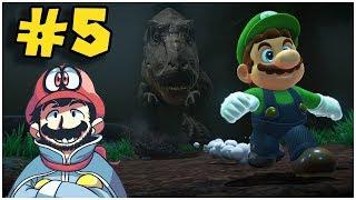 Bosque Prehistórico !! - Jugando Super Mario Odyssey con Pepe el Mago (#5)