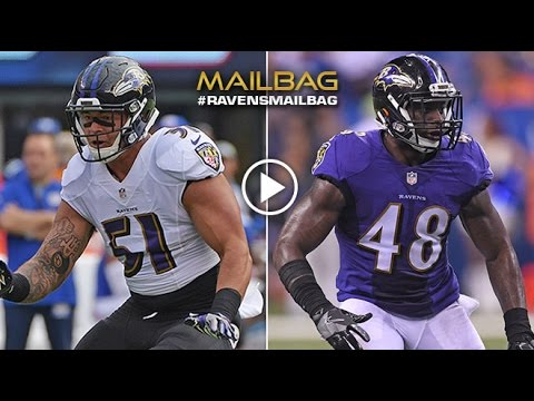 Who Will Be Next Linebacker Next To C.J. Mosley? | #RavensMailbag | Baltimore Ravens