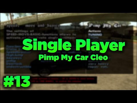 Gta San Andreas #13 - Pimp My Car | Araç Modifiye Cleo | Tanıtım | İndir