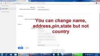 How to Change Payee Name & Address in Google Adsense Account
