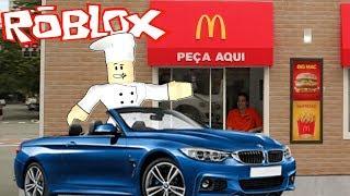 MCDONALDS DRIVE THRU (Roblox Restaurant Tycoon)