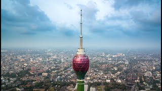 Construction of the Lotus Tower