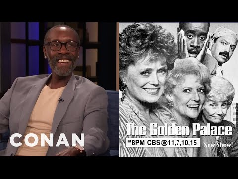 """Don Cheadle Was In """"The Golden Girls"""" Spin-Off - CONAN On TBS"""