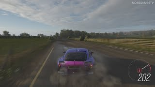 Forza Horizon 4 - 2005 TVR Sagaris Forza Edition Gameplay