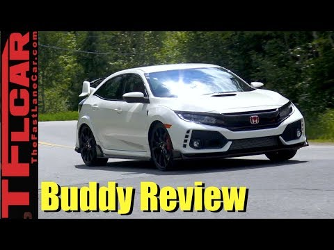Buddy Review: Two Friends Review the New Honda Civic Type R