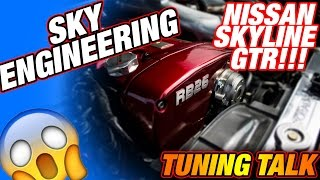 SKY-ENGINEERING - Skyline Mapping,Nissan GTR Abstimmung, Sidney PS Profis, Sidney Industries, 1000ps