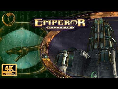 Emperor Battle For Dune Ordos Campaign Walkthrough (4K) Part 1/6 - The Executrix