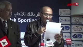 أحمد رفعت: رموز الزمالك كلها وراء مرتضي وضد ميدو (اتفرج)