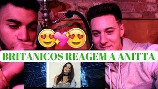 BRITÂNICOS REAGEM A ANITTA- (J. Balvin - Ginza ft. Anitta) REACTION