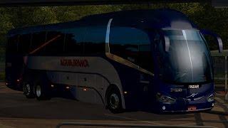 EAA Bus - SP/Caraguatatuba - Irizar I6 Volvo - Viação Aguia Branca - Euro Truck Simulator 2