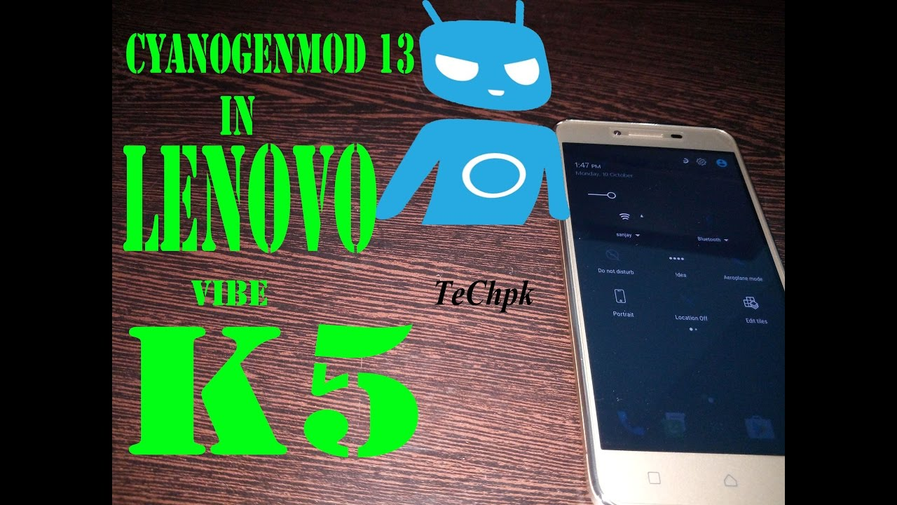 lenovo vibe k5 cyanogenmod hand review custom rom   Hindi