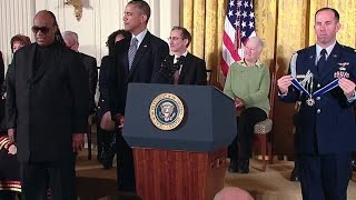 President Obama Honors the 2014 Medal of Freedom Recipients