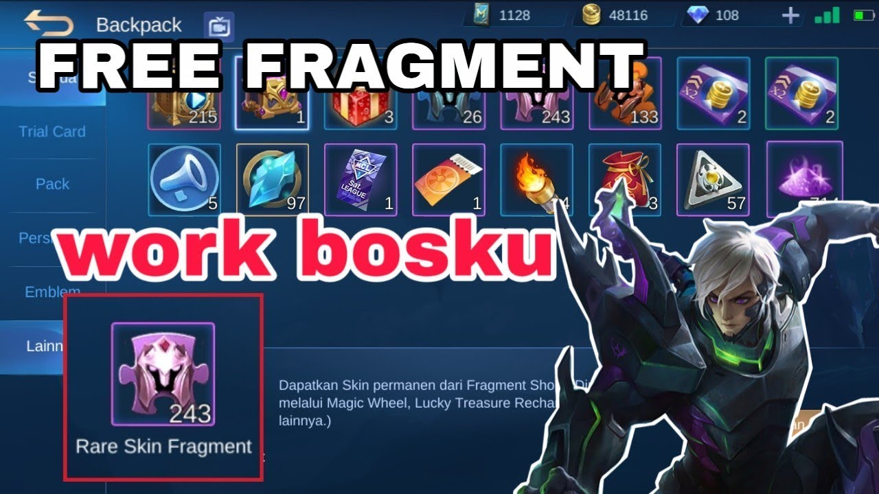 CODE REDEEM MOBILE LEGEND TERBARU 2020 - YouTube