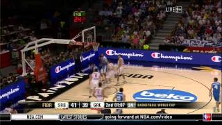 FIBA 2014 World Cup Serbia-Greece HD