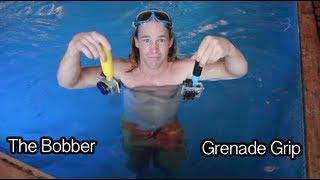GoPole Bobber vs Grenade Grip - GoPro Tip #229 | MicBergsma
