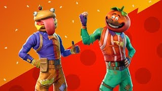 Fortnite Battle Royale Food Fight LTM - My First Time Playing The Food Fight Game Mode