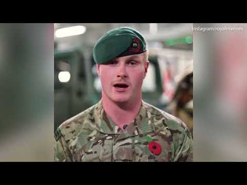 'For those who have died': Royal Marine shares Remembrance Day poem