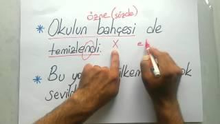 Edilgen / Dönüşlü - TERLETEN İKİLİLER / ÖNDER HOCA