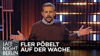 Es ist so kalt, Fler pöbelt jetzt direkt auf der Wache! | Stand Up | Late Night Berlin | ProSieben