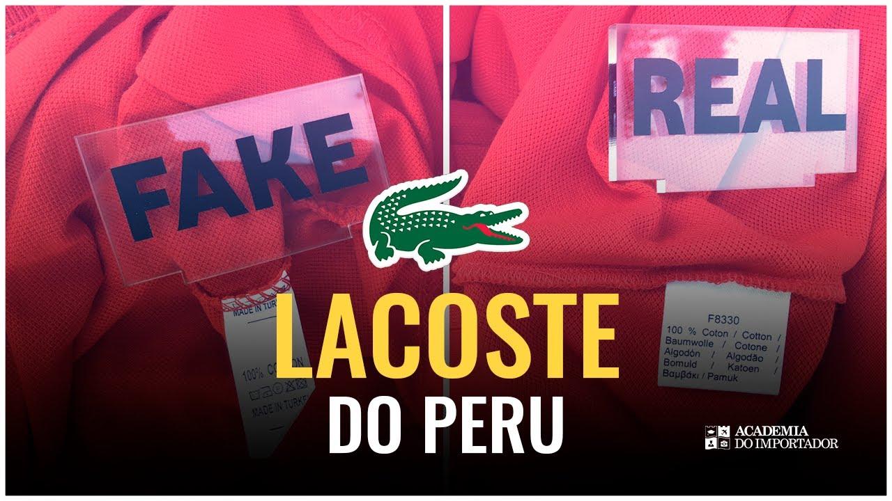 945b3b3be LACOSTE do PERU são Réplicas ou Originais  Fomos lá Conferir. - YouTube