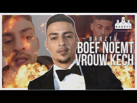 BOEF MAAKT VROUW UIT ALS KECH (HOER) & BIED ZIJN EXCUSES AAN!! (Alle beelden+Uitleg!) #BarzTV