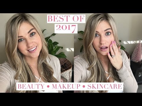 BEST OF 2017 - ALL MY BEAUTY FAVORITES