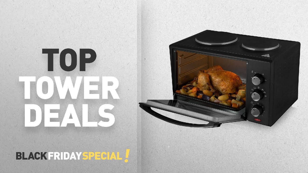 tower black friday deals including tower t14013 mini oven. Black Bedroom Furniture Sets. Home Design Ideas