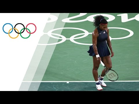 Favourite Serena exits early
