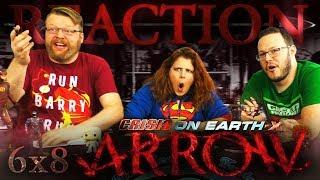 "Arrow 6x8 REACTION!! ""Crisis on Earth-X, Part 2"""