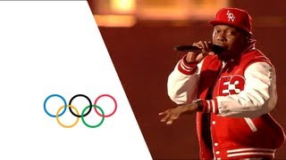 Dizzee Rascal - Opening Ceremony Performance |  London 2012 Olympics