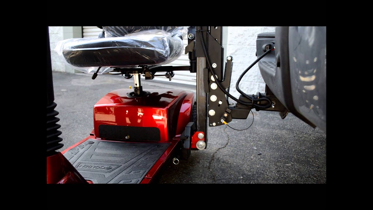 TRILIFT- The HEAVY DUTY Lift for Scooters and Power Wheelchairs up to 400  lbs - T1030