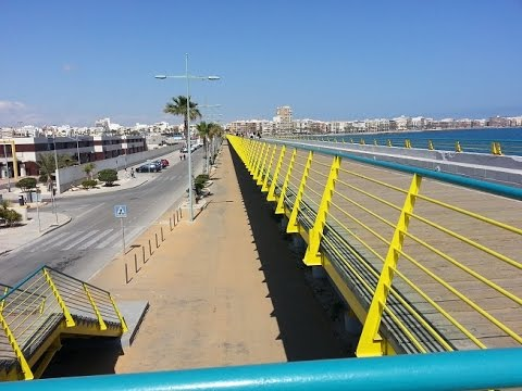 La Mata to Torrevieja Boardwalk in Spain