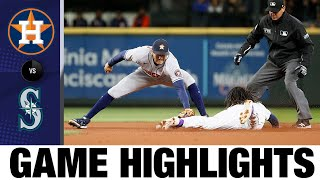 Astros vs. Mariners Game Highlights (8/31/21)