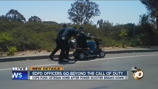 Officers go beyond call of duty for Vietnam veteran