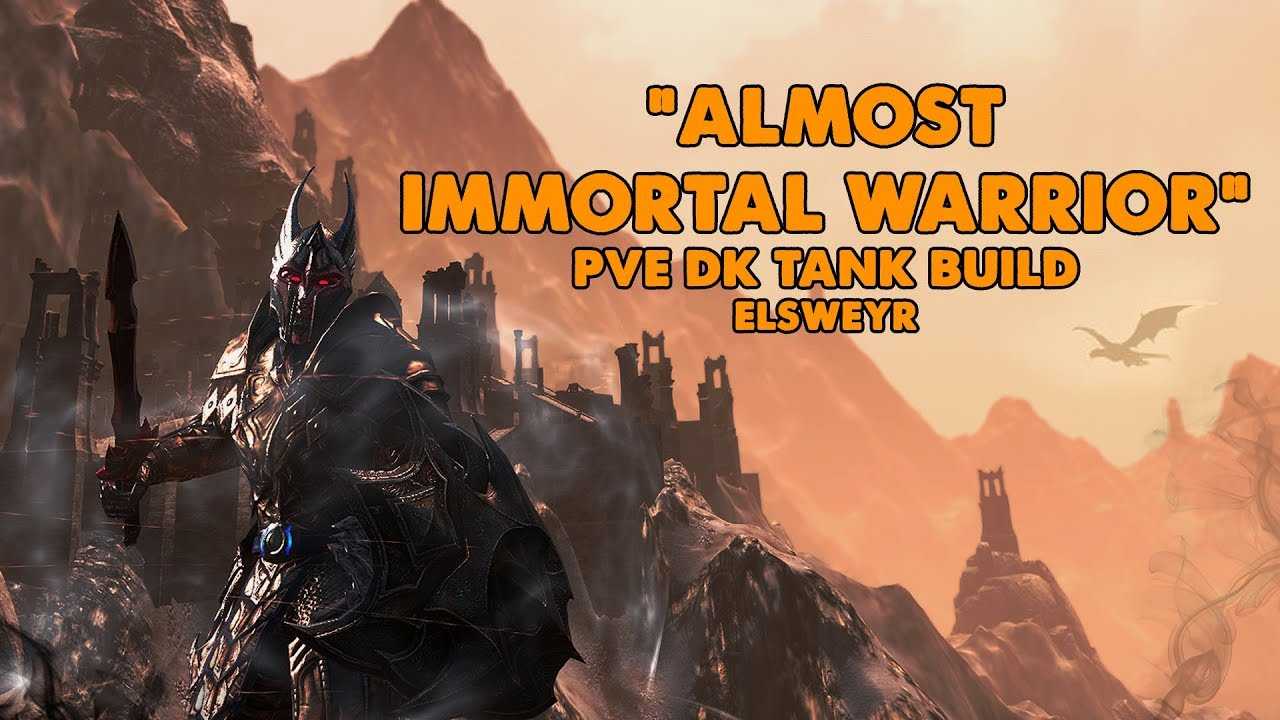 ESO - Almost Immortal Warrior - PVE Dragonknight Tank Build - (Elsweyr)