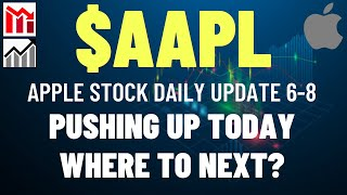 $AAPL APPLE STOCK PUSHING UP, WHERE TO NEXT?? Apple Stock Analysis   Live Wellthy Stocks