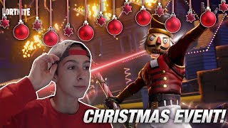 GINGERBREAD SKIN + SNIPER MODE!   Christmas Event   Fortnite Live English
