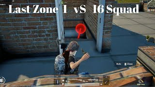 Last Zone Fight 1 vs 16 Squad || Most Intense Fight Gameplay On Tamil
