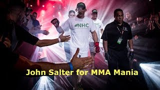 John Salter Interview Before Chidi Njokuani at Bellator 210