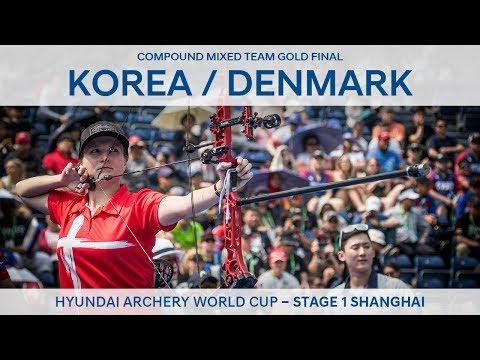 Korea v Denmark – Compound mixed team gold | Shanghai 2018 Hyundai Archery World Cup S1