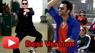 Jackky Bhagnani Re- Creates Gangnam Style- Indian Version