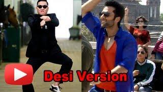 Jackky Bhagnani Re- Creates Gangnam Style- Indian Version