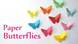 One of Innova Crafts's most viewed videos: DIY crafts: Paper BUTTERFLIES (very EASY) - Innova Crafts