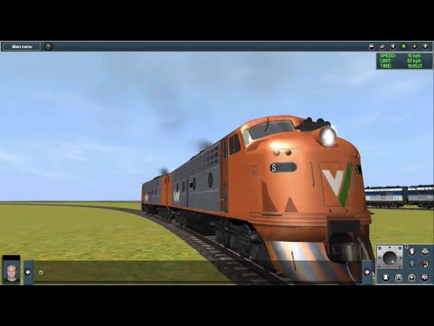 THE SILLY TRAIN PARTY!! (Trainz Simulator)