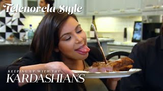 Kim Kardashian&#39s Placenta Is on the Menu  KUWTK Telenovelas  E!
