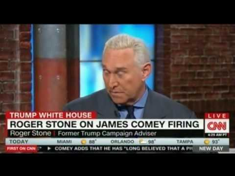 Roger Stone grilled in an interview by CNN Chris Cuomo